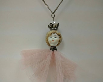ballerina princess necklace