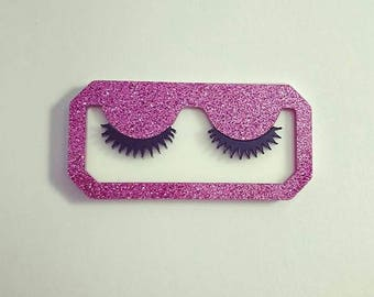 Laser Cut Acrylic Lashes