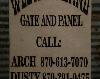 Custom Business Sign