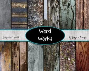 Wood Digital Backgrounds