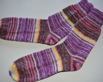 41-42 knitted socks Bellalana cocktail *.
