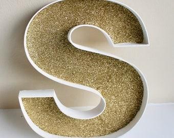 Personalised Glitter Letter