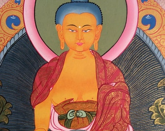 Shakyamuni, Gautama, Buddha Thangka