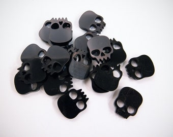 Black Scull game token