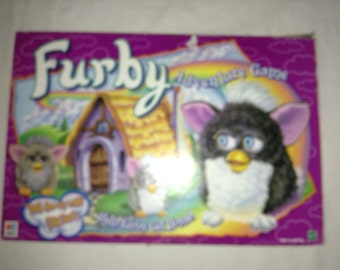 Furby Adventure Board Game from Milton Bradley 1997 Complete in Great Condition FREE SHIPPING