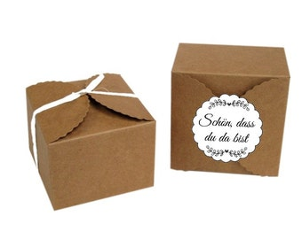 2 boxes gift boxes nature (HF7)