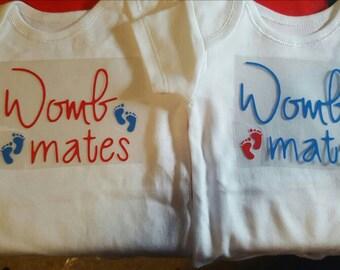 Womb Mates Baby Vests
