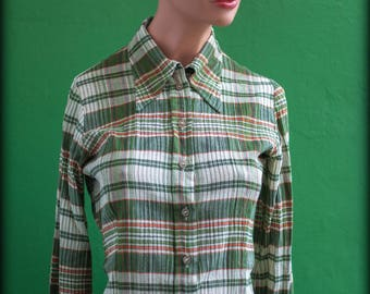 Shirt sleeves long collar point T36 (en) XS