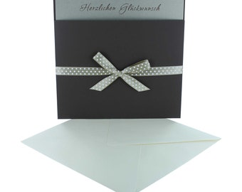 Greeting cards with bag + card, card, greeting card