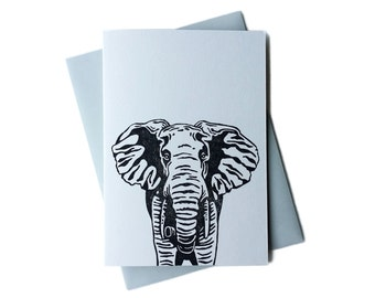 Greeting Card - Elephant