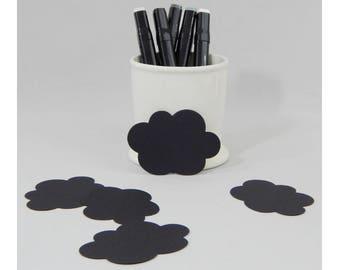Cloud Tag - Cardstock Tag - Die Cut Tag - Packaging Tag - Blank Tag - White Tag - Favor Tag - Gift Tag - Logo Tag - Punched Tag - Plain Tag