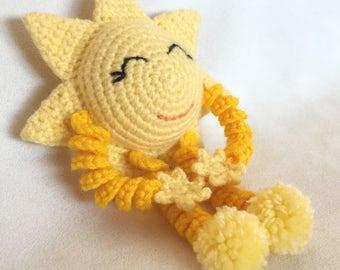 Super Happy Sun --- Crochet Pattern ONLY