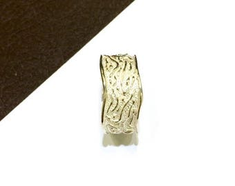 Band ring in 925 silver