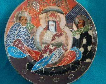 Satsuma decorative Board