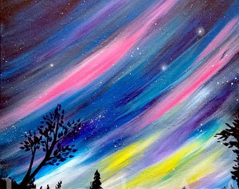 Aurora Night 11x17 Print