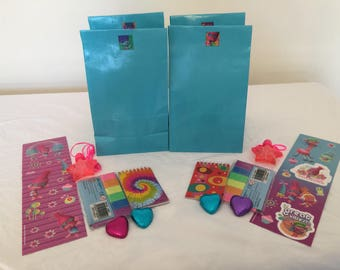 Trolls Pre-filled Party Favour Bags x 10
