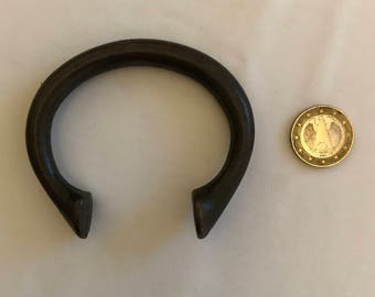 Bracelet African bronze amulet