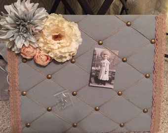 Floral Push Pin Board