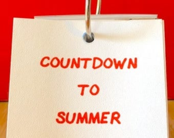 Countdown to Summer Vacation Calendar