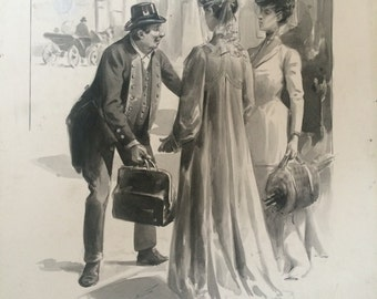 Original drawing by G. DUTRIAC. Totote book illustration
