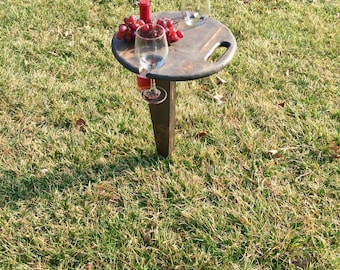Portable Folding Wine Table