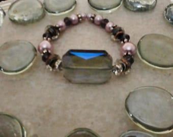 Beaded bracelet, Boho jewelry