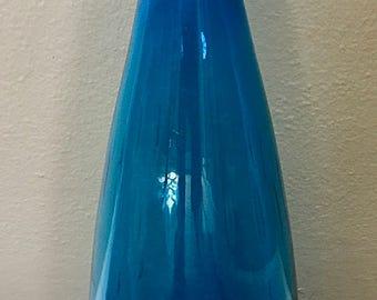 Vintage Blenko Floor Vase