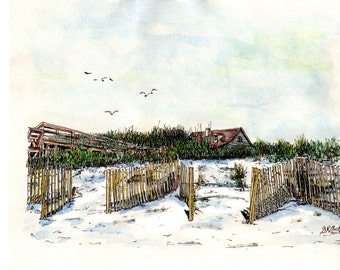 Memories of past homes, 2nd homes or current homes. Special, personal water colored illustrations of your special memories.