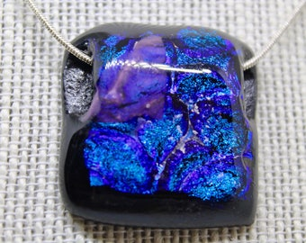 Fused Glass Necklace - Dichroic