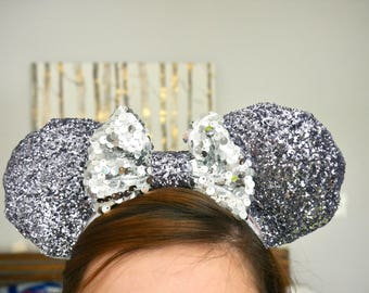 "Midnight ""Pixie Dust"" Minnie Ears   Mickey Ears"