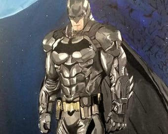A0 Canvas Painting Batman