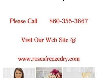 Bridal Bouquet Preservation, Flower Preservation, Wedding Bouquet Preserved