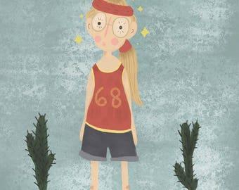 "Print ""Little Miss Sunshine"""
