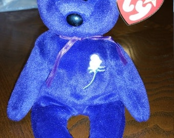 Princess Diana Purple Bear