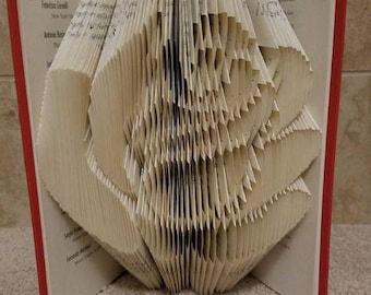 Rose Folded Book