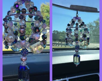 Rearview Mirror Chandelier