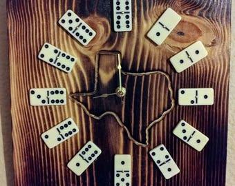 Texas Domino Clock