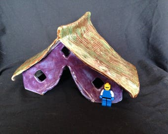 Purple Diamond toad house