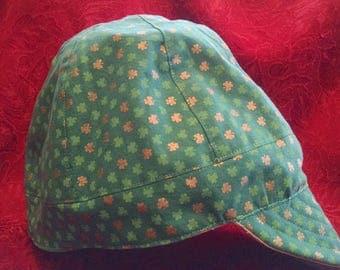 Green Clover / khaki Reversible Welder's Cap