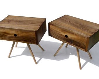 Four legs and drawer tables