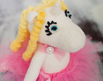 Unicorn Crochet  Amigurumi