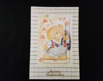 Handmade Forever Friends Stacking card