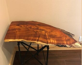 Curly Koa End Table