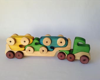 Wooden Toy Truck, Interactive toy.