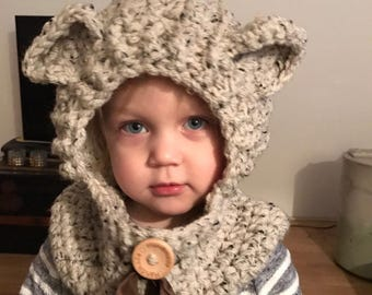 Cute bears Cap/col for children