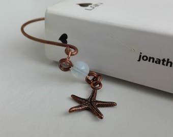 Bookmark ' SeaStar ' in copper