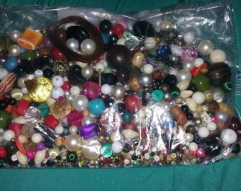 ON SALE: Bead Soup, Random mix, 6 Oz bags. Pictures don't do the selection and variety justice.