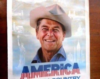 1984 Original Regan Poster