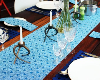 Table runner, traditional South African fabric