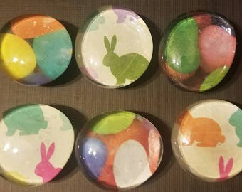 Hoppy Easter magnet set